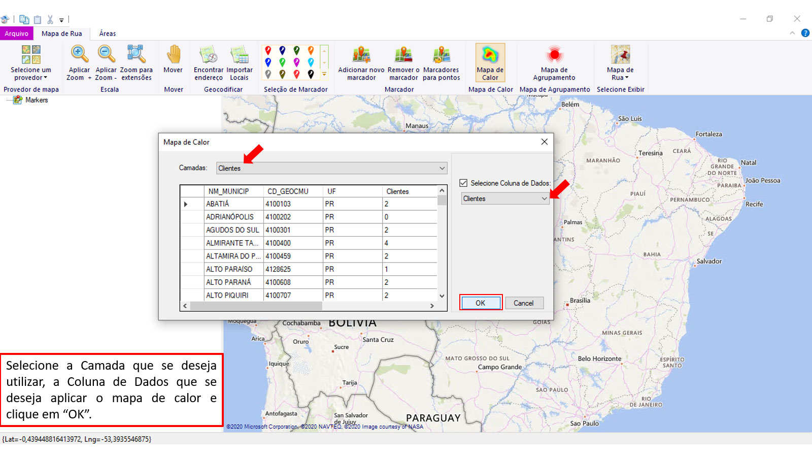 Workmap Geomargeting